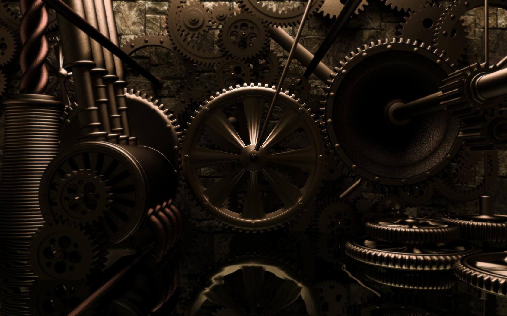 steampunk computer wallpapers desktop backgrounds