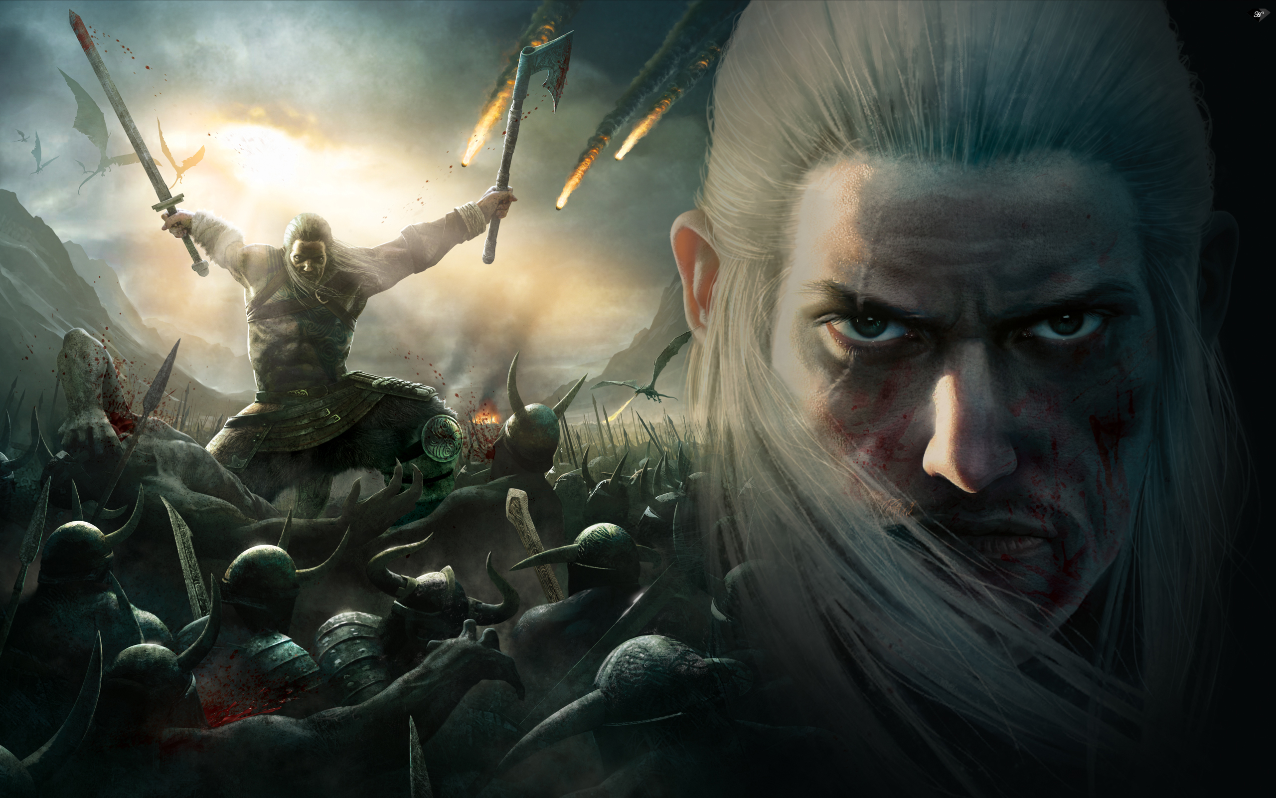 4 viking battle for asgard hd wallpapers backgrounds