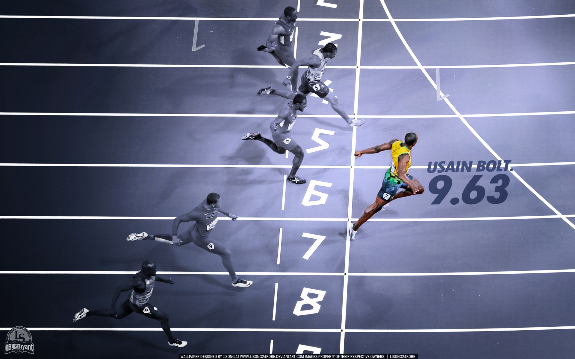 Usain Bolt Full HD Wallpaper And Background Image