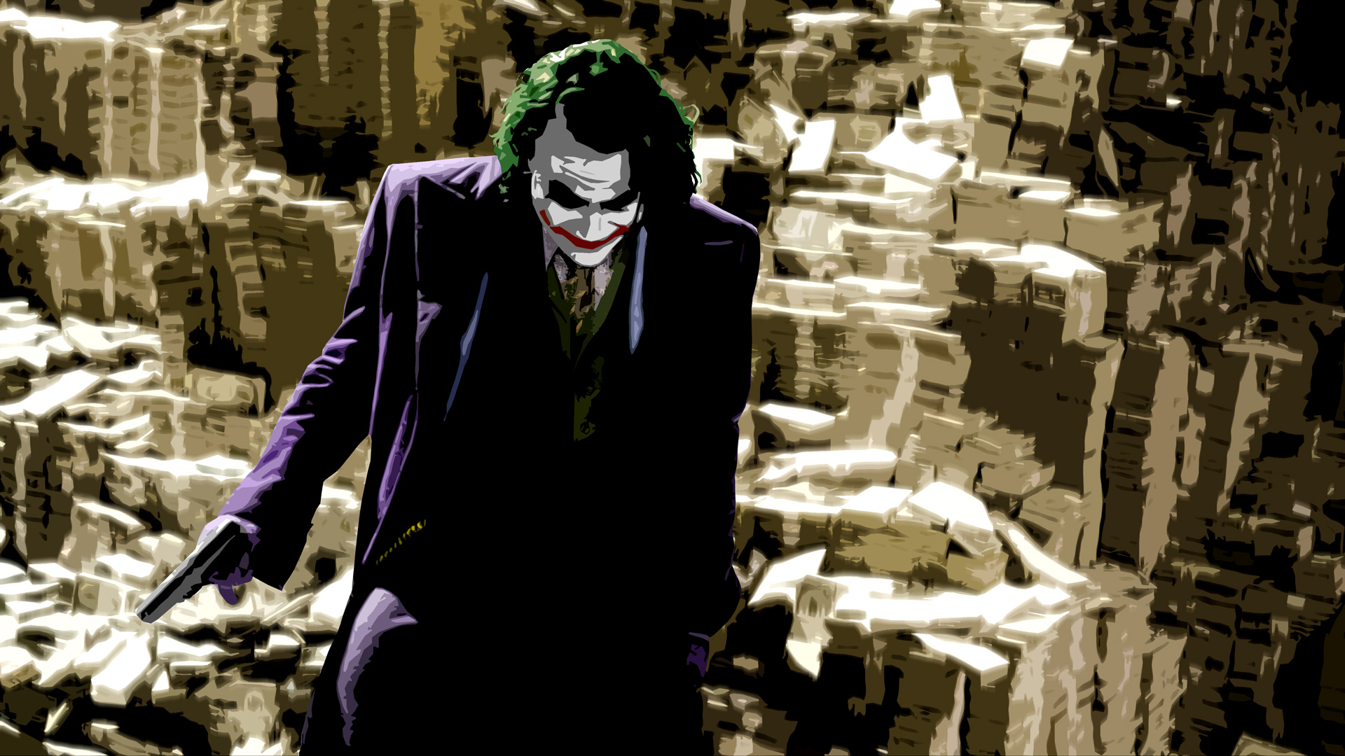 The Dark Knight Hd Wallpaper Background Image 1920x1080 Id