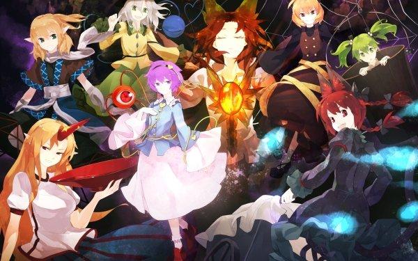 Anime Touhou Satori Komeiji Utsuho Reiuji Koishi Komeiji Rin Kaenbyou Yuugi Hoshiguma Kisume Shou Toramaru Parsee Mizuhashi HD Wallpaper | Background Image