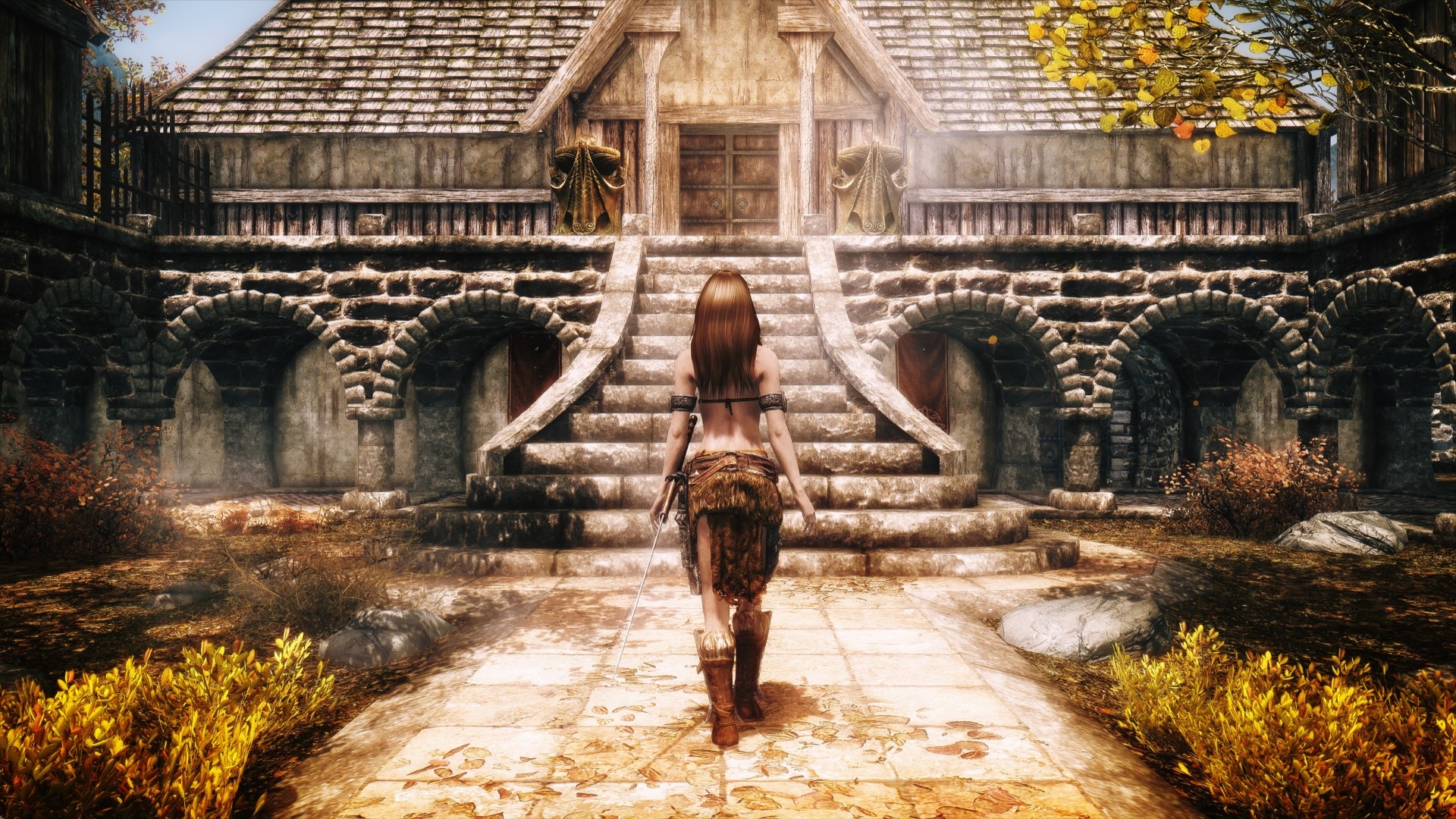 The Elder Scrolls V: Skyrim HD Wallpaper | Background ...