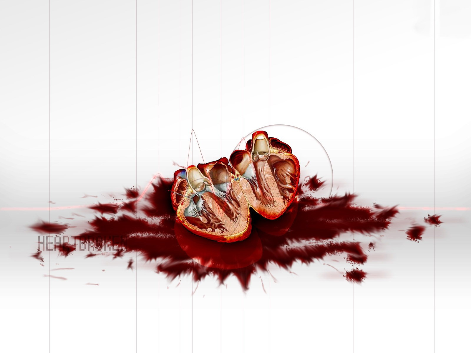 Bloody Love Wallpaper : Emo Wallpaper and Background Image 1600x1200 ID:286613