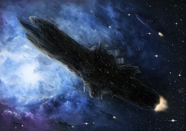 Sci Fi - Spaceship  Vessel Space Wallpaper