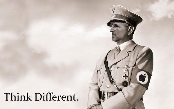 Technology Apple Nazi HD Wallpaper   Background Image