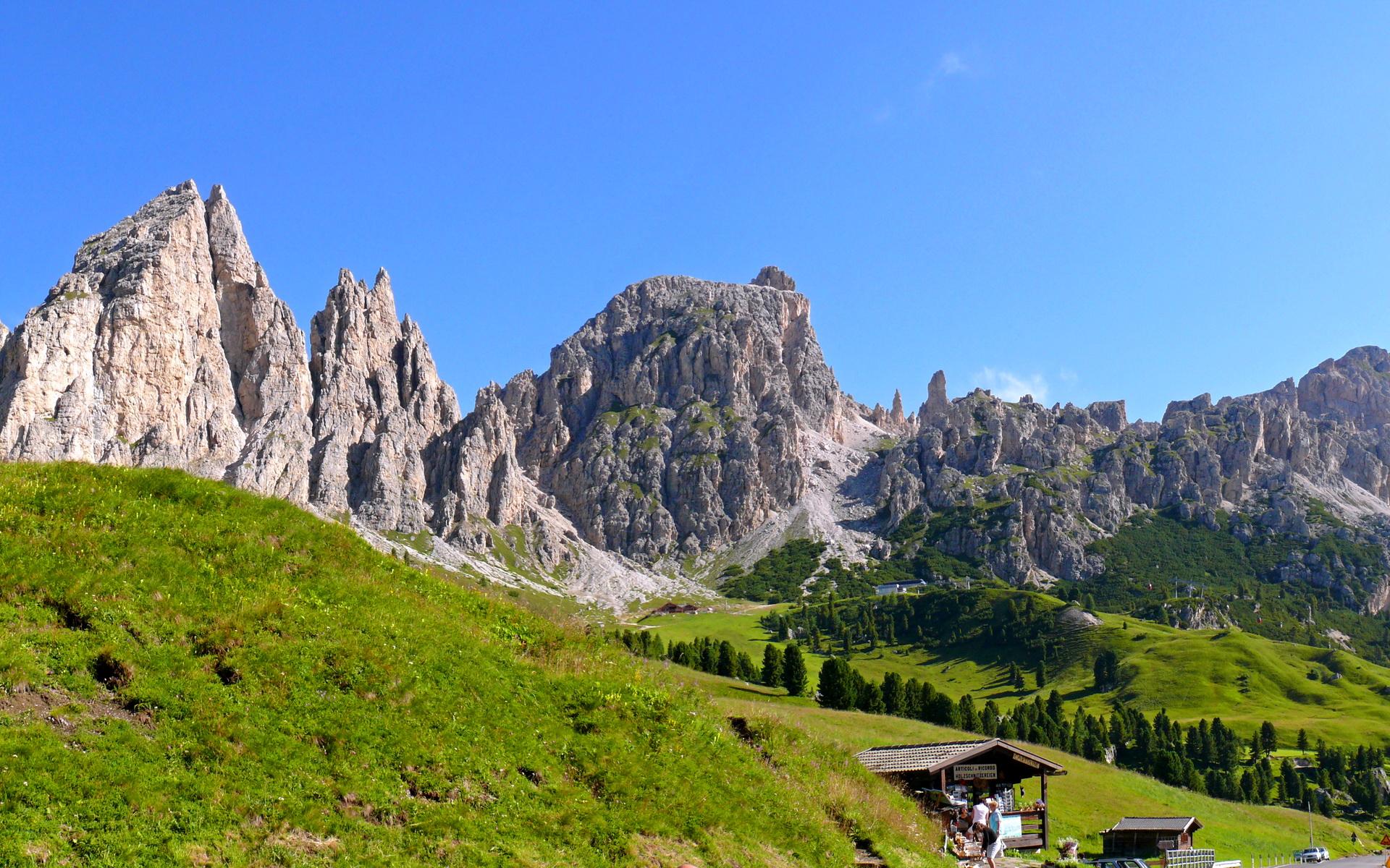 Italy Trentino Alto Adigesüdtirol Sëlva Hd Wallpaper Sfondi