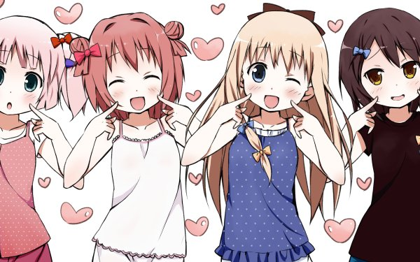 Anime Yuru Yuri HD Wallpaper   Background Image