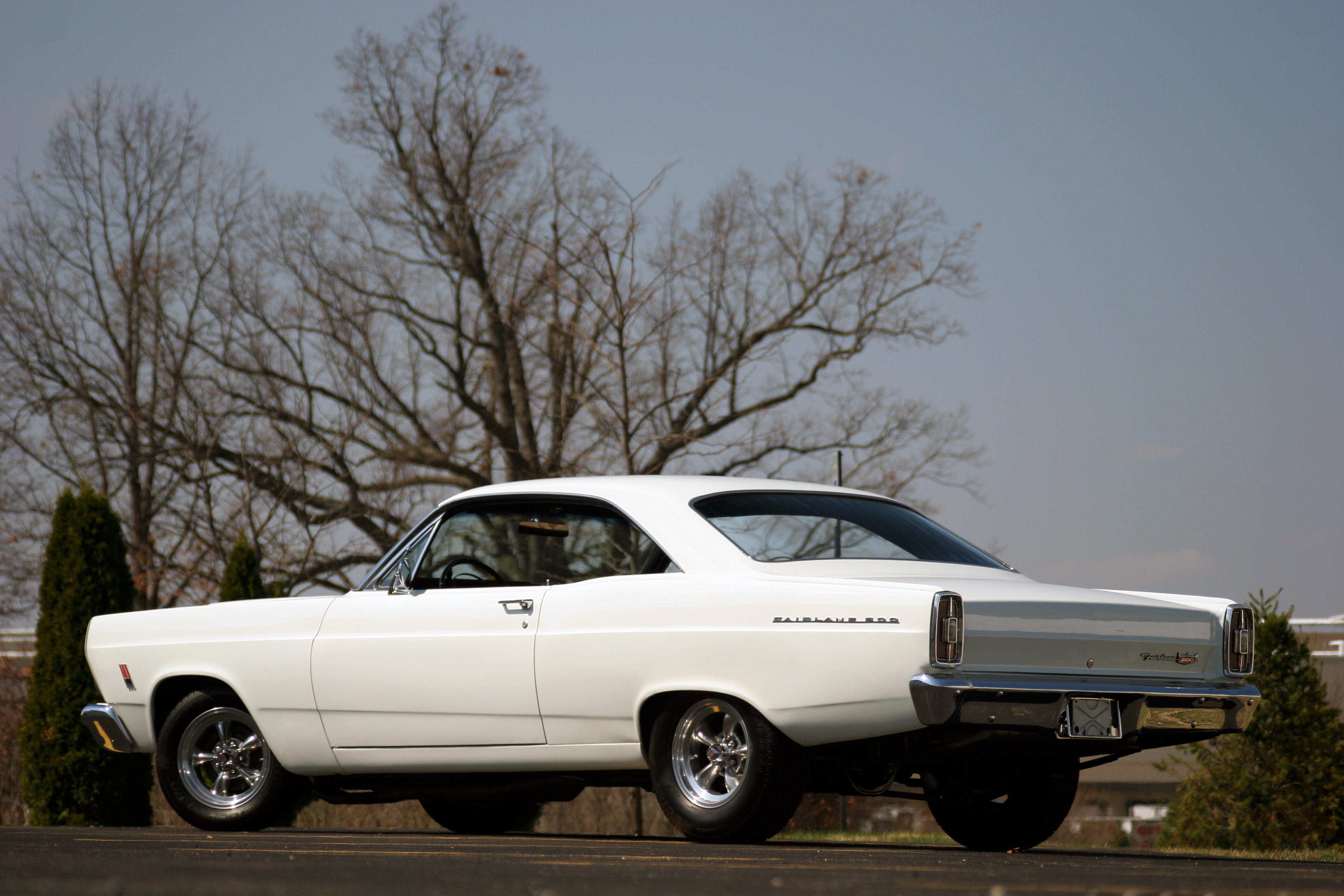 1966 FORD FAIRLANE 500 GT Full HD Wallpaper And Background