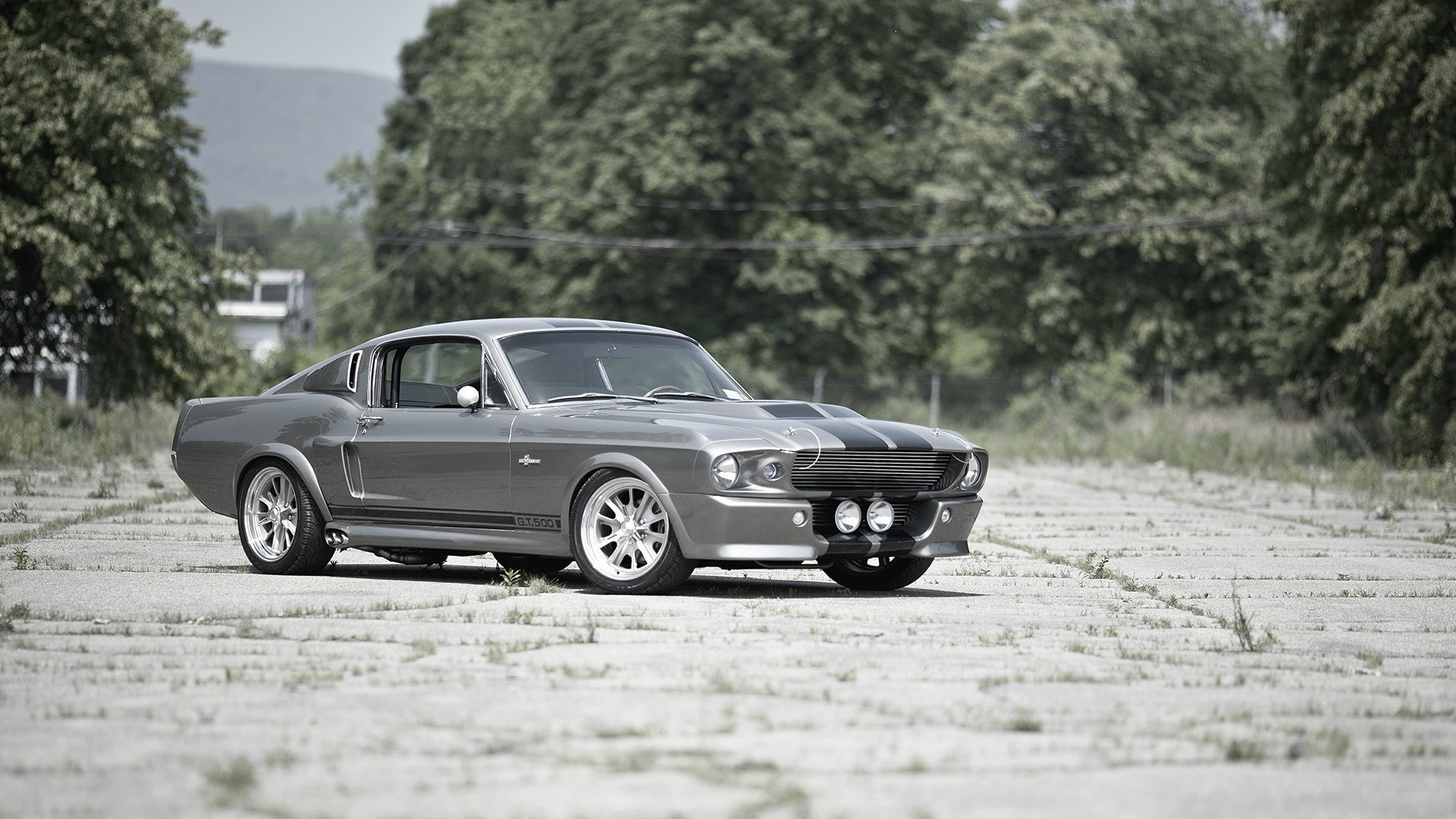 1967 Ford Mustang Shelby Gt500 Fastback Eleanor 58 Hd Wallpaper