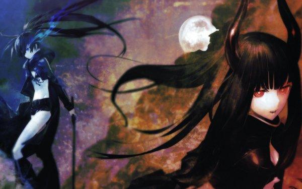 Anime Black Rock Shooter Black Gold Saw HD Wallpaper | Background Image