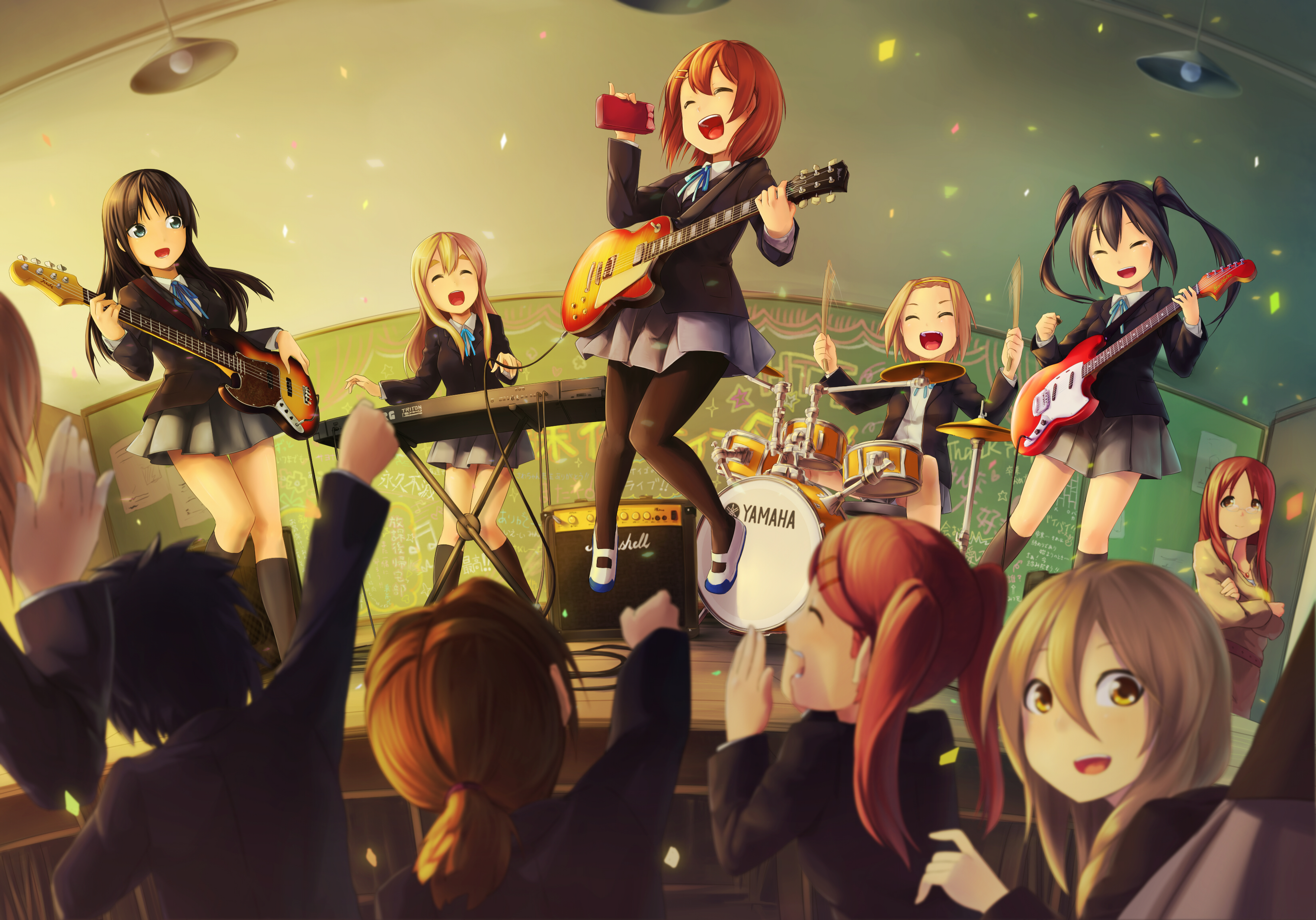 K-ON! Full HD Wallpaper and Background Image   3287x2298 ...