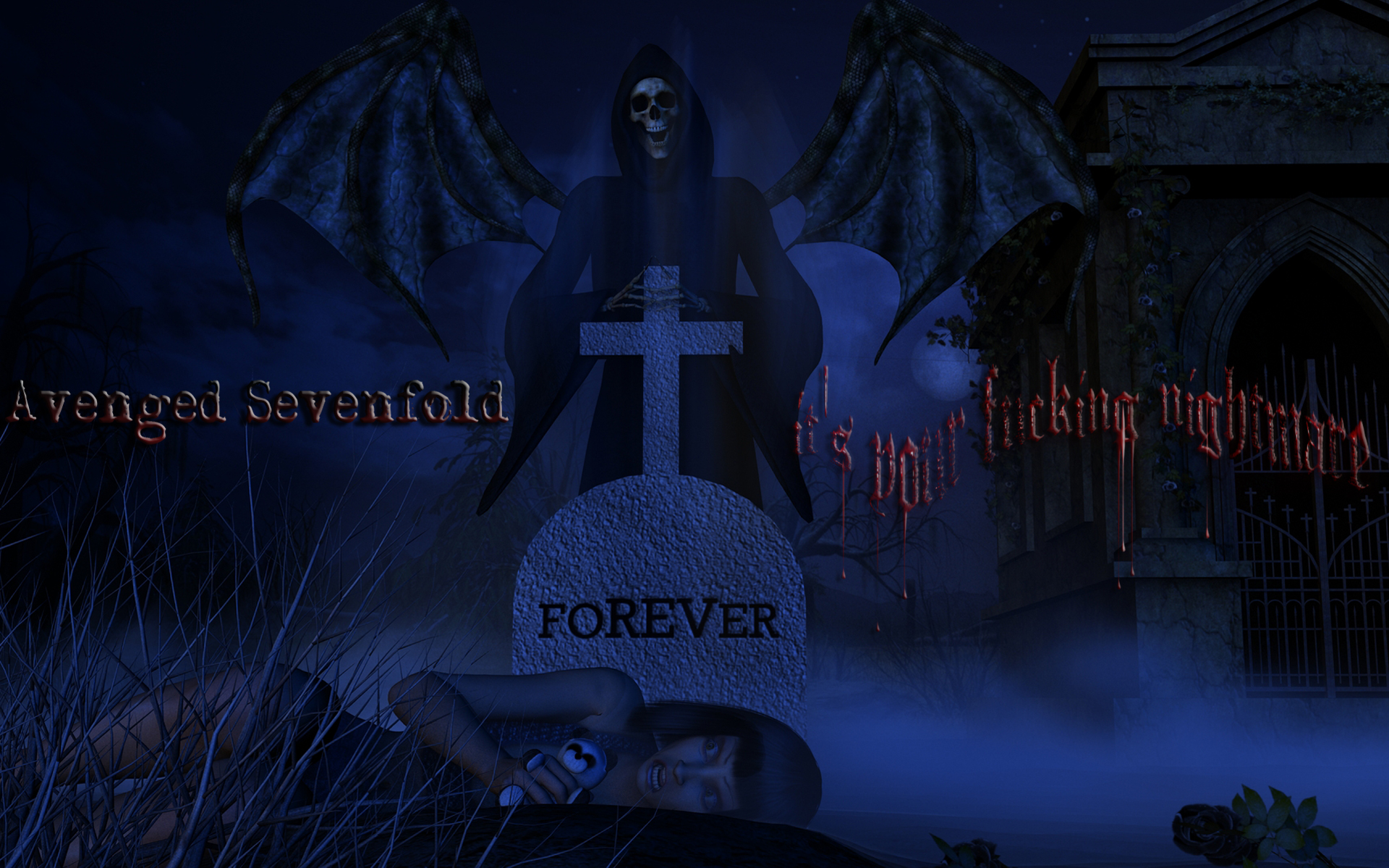 avenged sevenfold wallpapers for iphone