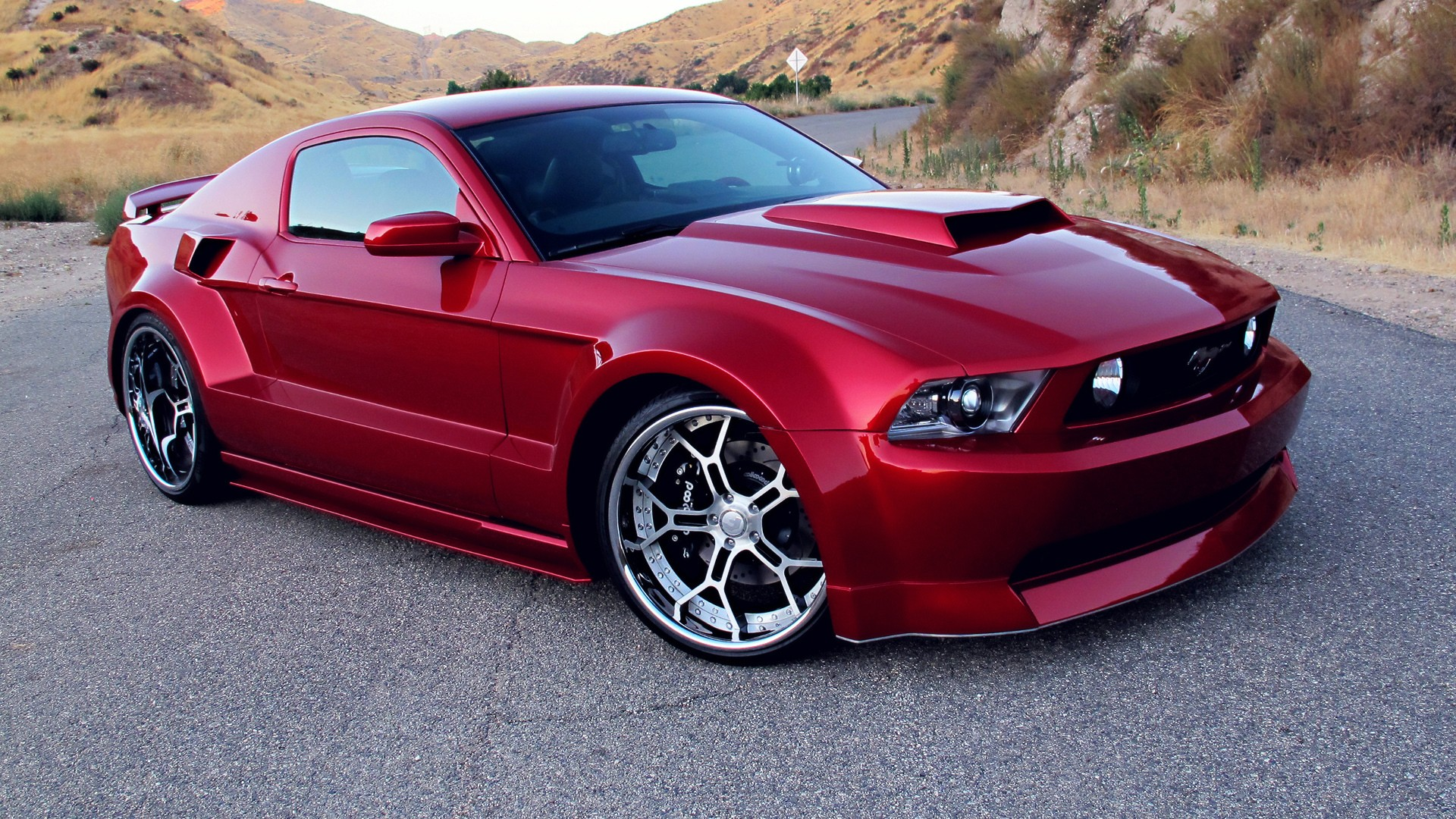 2012 FORD MUSTANG GT CUSTOM COUPE Full HD Fond d'écran and ...