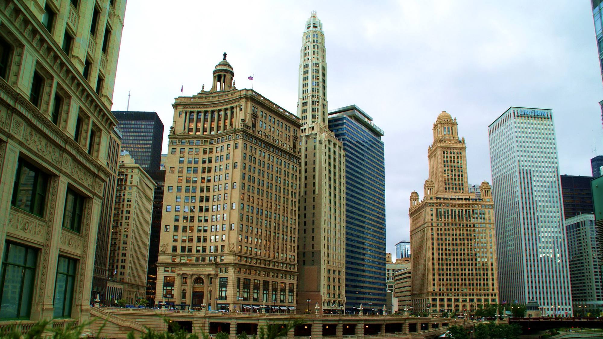 Downtown Chicago HD Wallpaper   Background Image ...