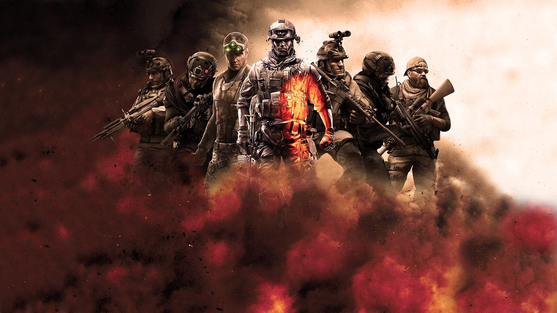 Video Game - Crossover  The Expendables Wallpaper