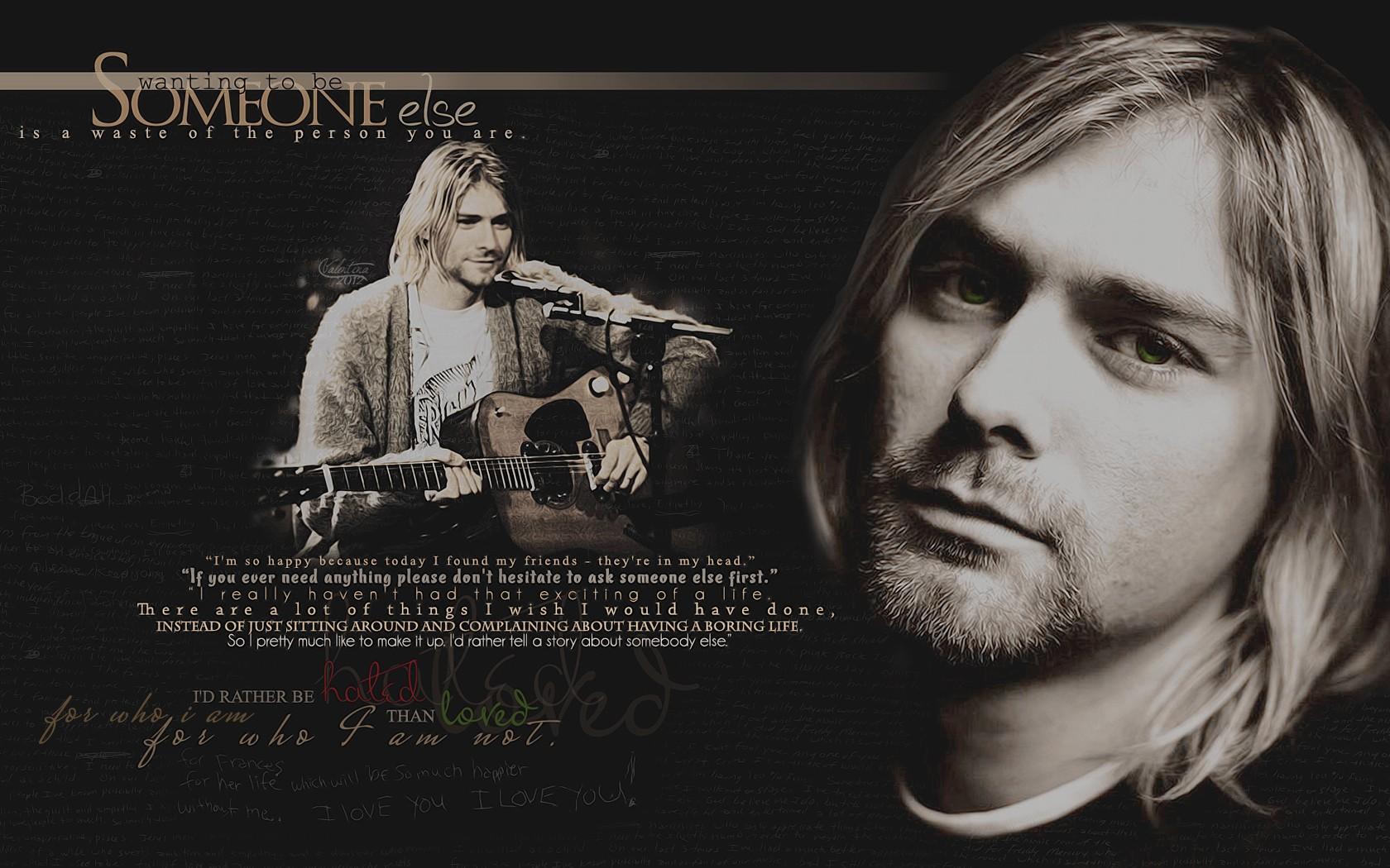Nirvana wallpaper and background image 1680x1050 id - Kurt cobain nirvana wallpaper ...