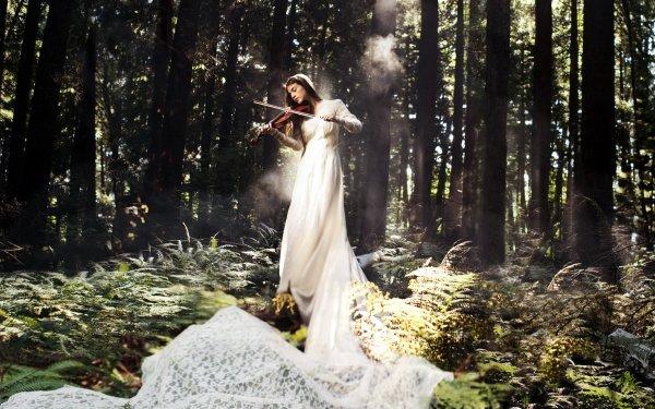 Musique Violon Grace Adams Fond d'écran HD   Image