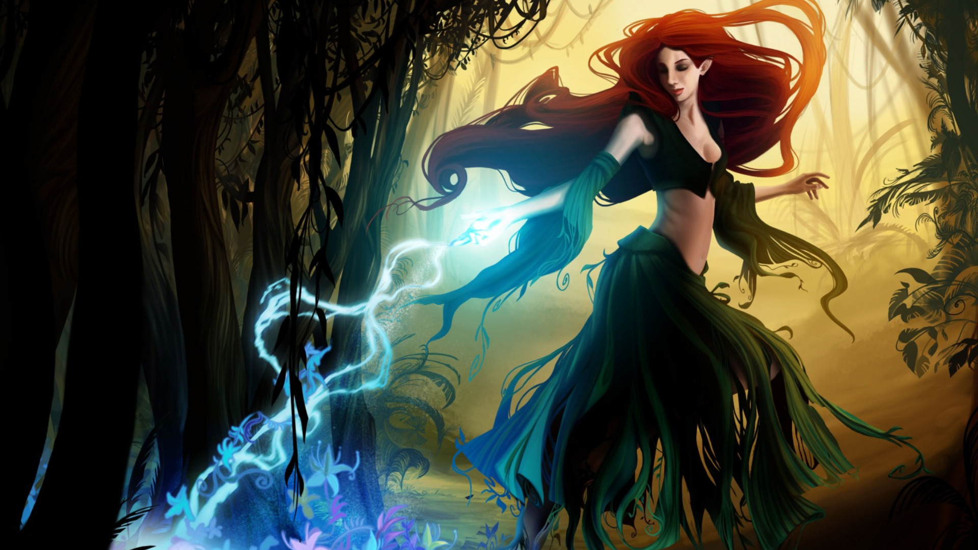 witch computer wallpapers desktop backgrounds 1920x1080