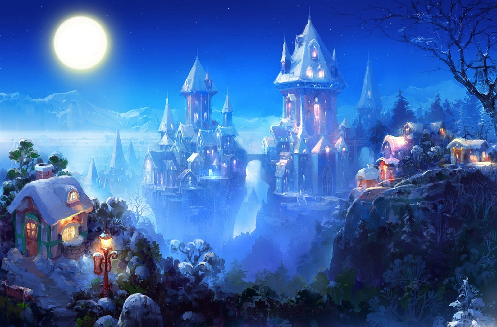 Fantasy - Castle  Wallpaper