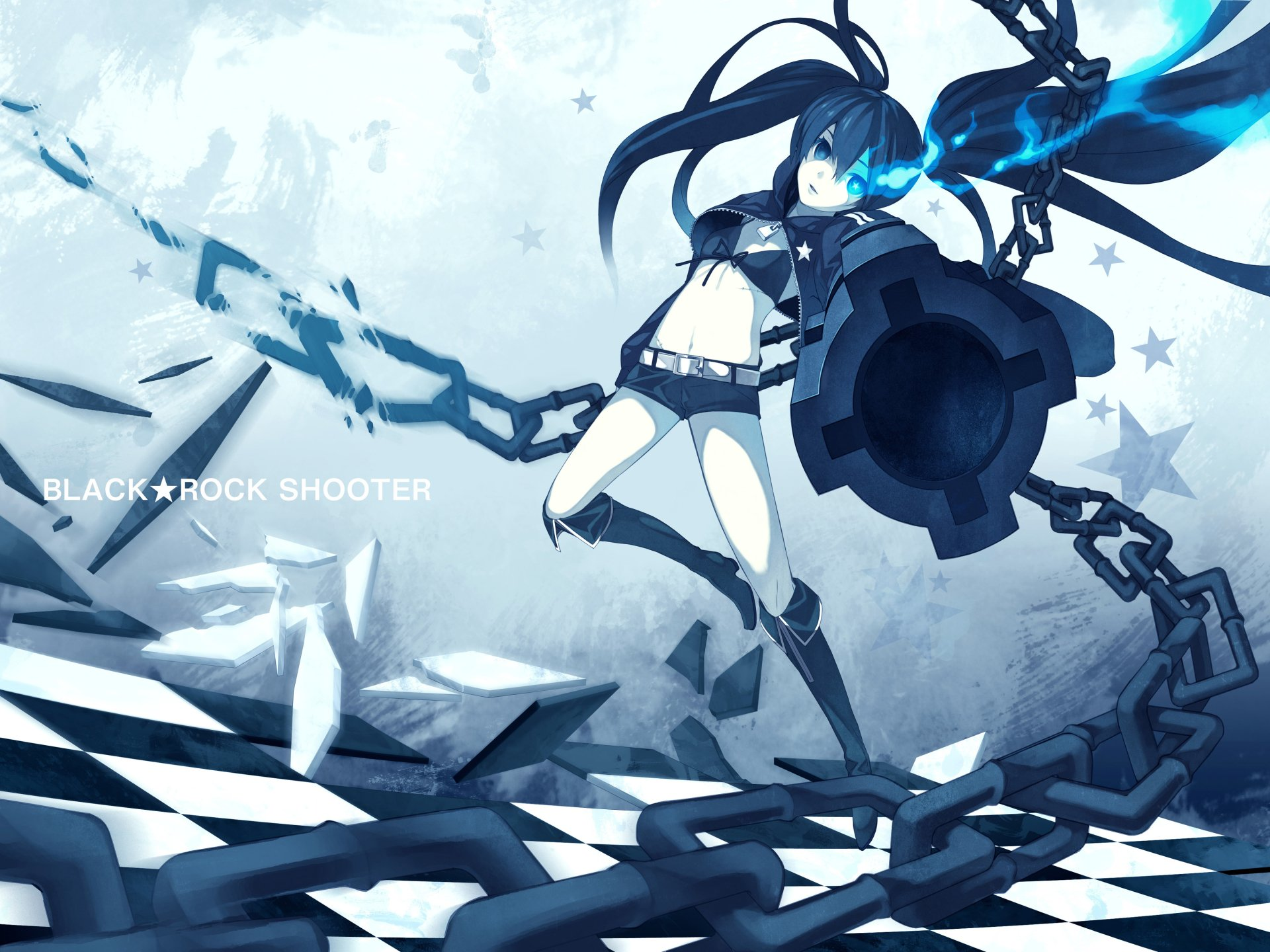 Black rock shooter 4k ultra hd fondo de pantalla and fondo for Fondo de pantalla 4k anime