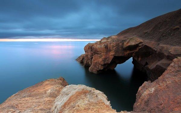 Earth Coastline Ocean Sky Cloud Seascape HD Wallpaper | Background Image