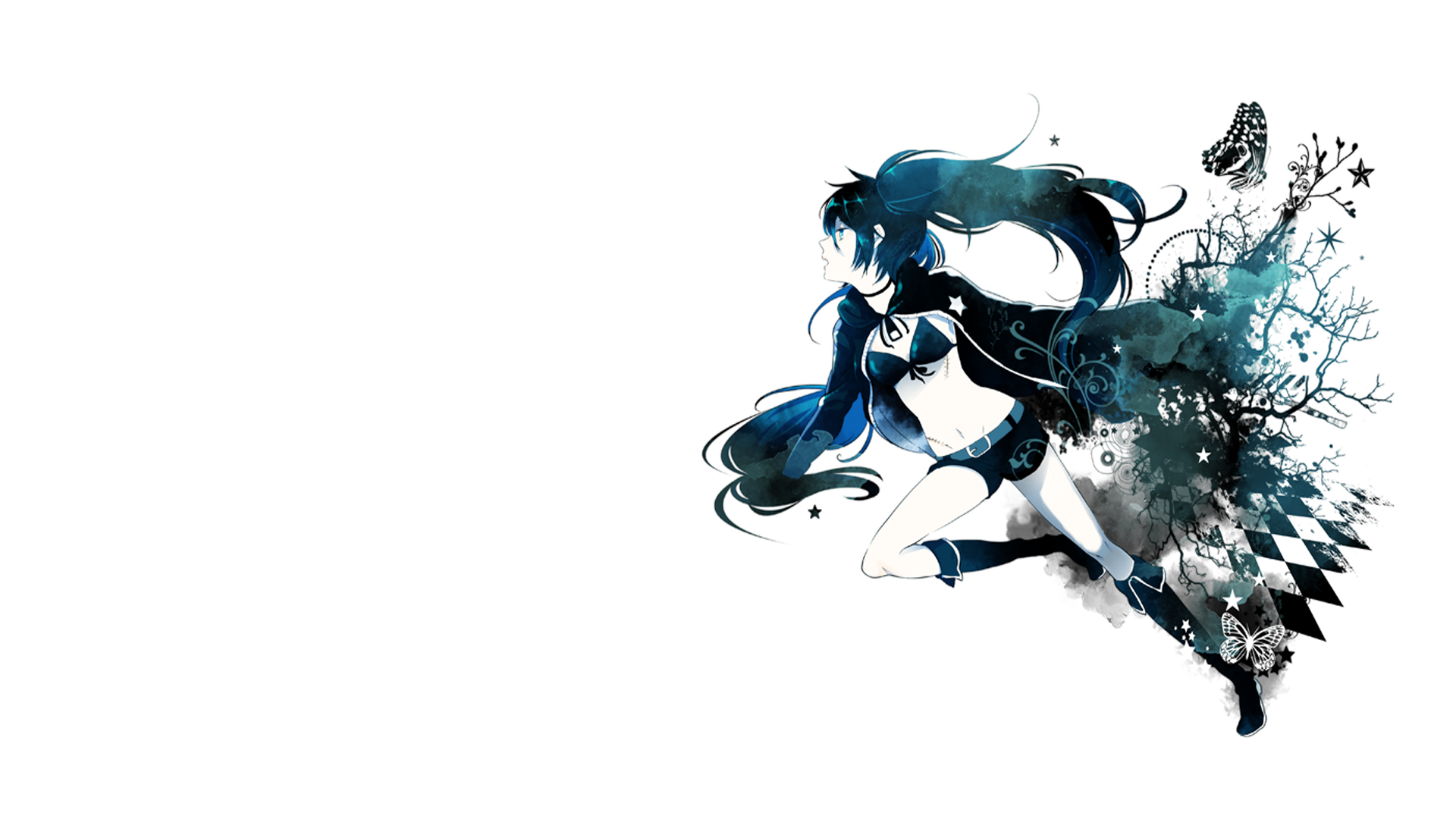 Black rock shooter full hd wallpaper and background image - Anime wallpaper full hd ...