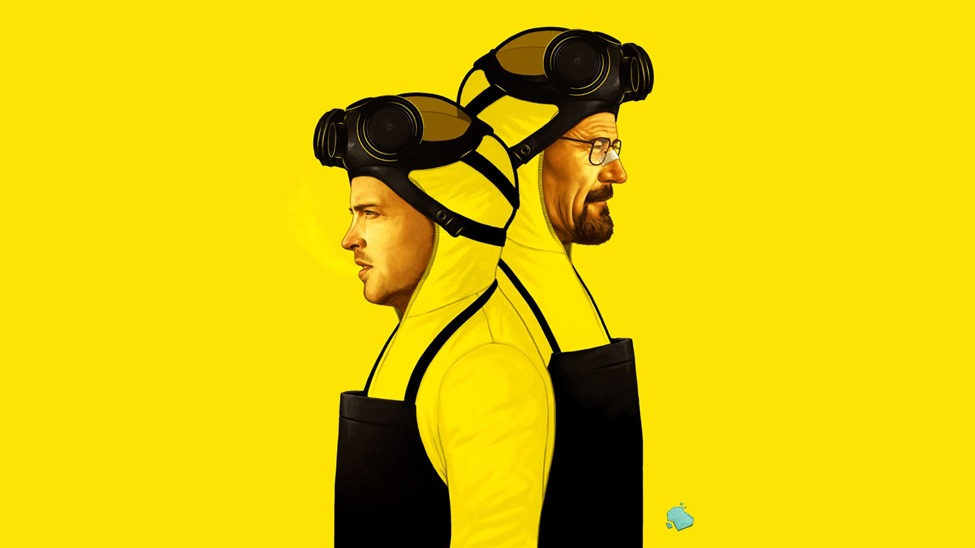 TV Show - Breaking Bad  Aaron Paul Jesse Pinkman Walter White Bryan Cranston Wallpaper
