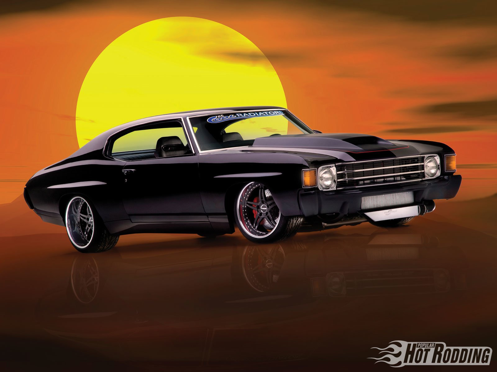 Chevy Muscle Car Wallpaper: 1972 Chevy Chevelle Wallpaper And Background Image
