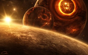 Fantascienza - Collision Wallpapers and Backgrounds