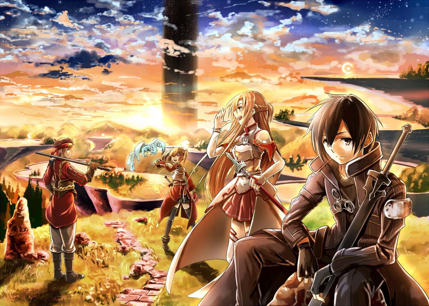 Sword Art Online Background: Sword Art Online Wallpaper And Background Image