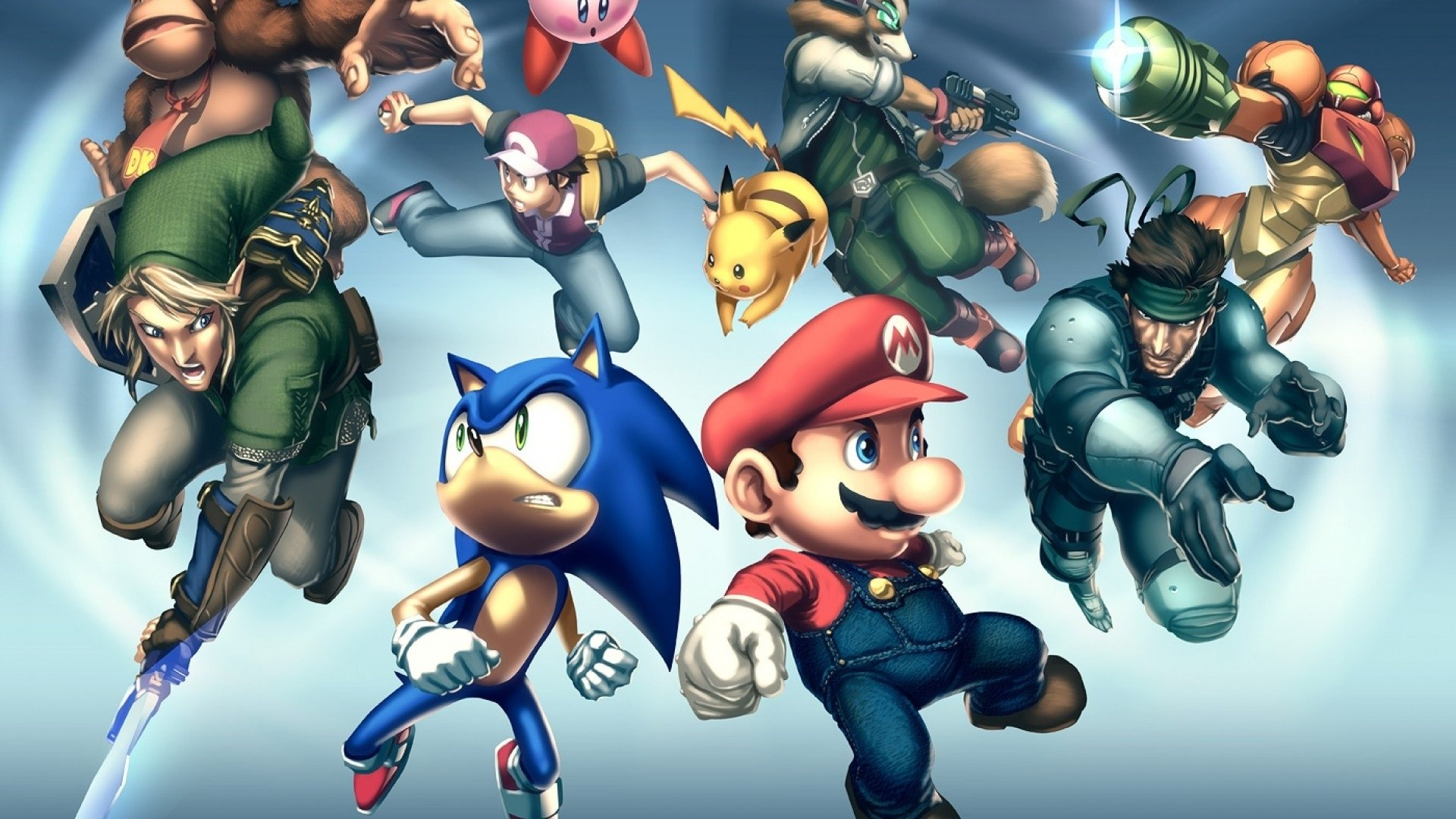 Super Smash Bros Brawl Hd Wallpaper Background Image