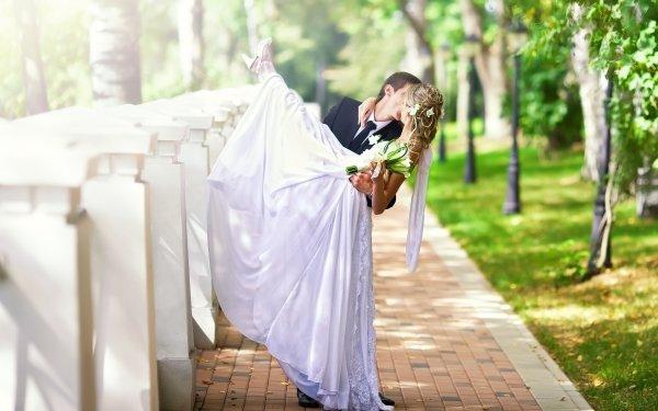Women Bride Love Romantic Wedding Groom Mood HD Wallpaper | Background Image
