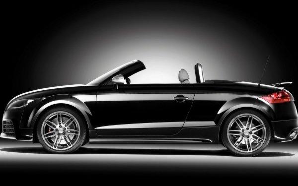 Vehicles Audi TT RS Audi Car Sport Car Audi TT Roadster Black Car Roadster HD Wallpaper   Background Image