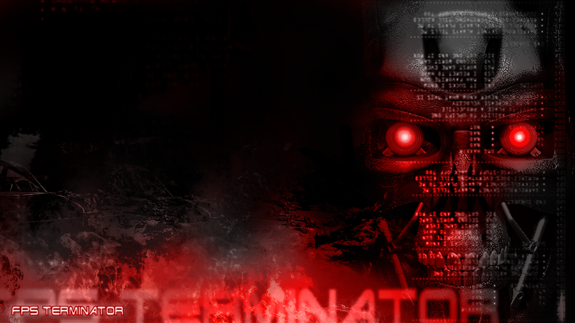 terminator widescreen computer wallpapers skynet