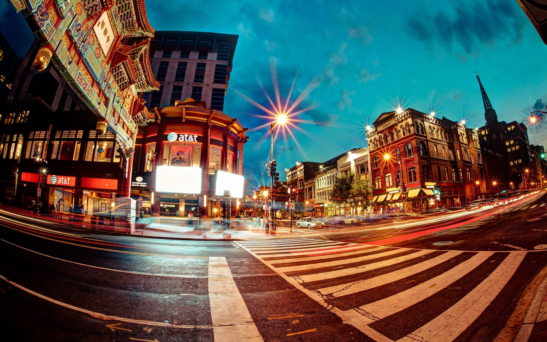 chinatown in washington, dc full hd wallpaper and background image