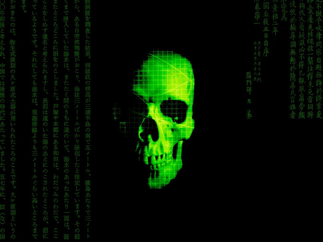 Skull Computer Wallpapers, Desktop Backgrounds   1366x1024 ...