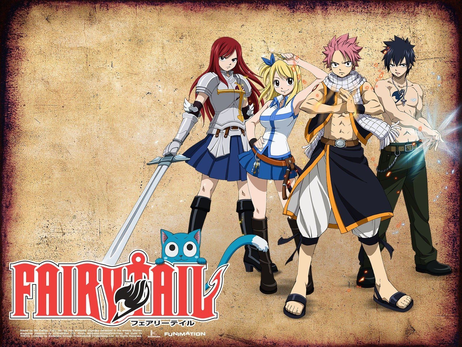 Fairy Tail Fond D Ecran And Arriere Plan 1600x1200 Id