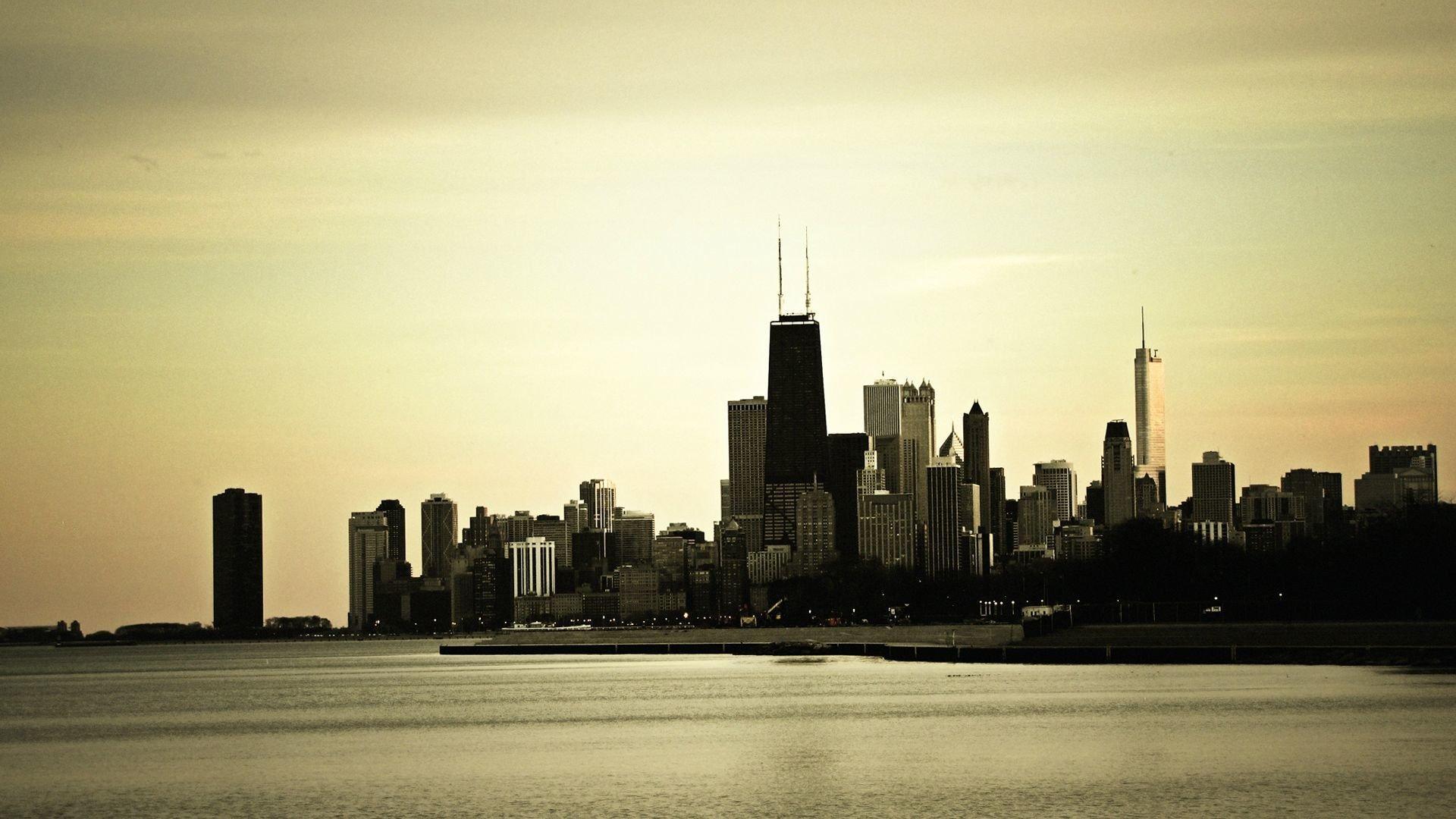 Man Made - Chicago  Skyscraper Building Cityscape Wallpaper