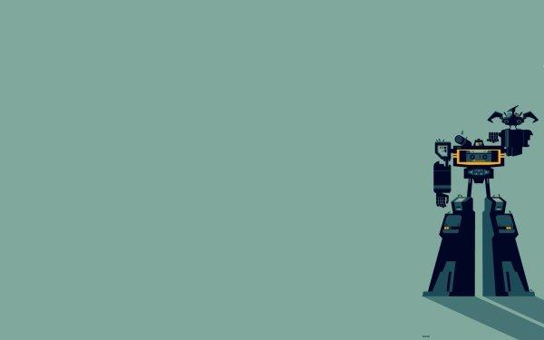 TV Show Transformers Robot Minimalist HD Wallpaper | Background Image