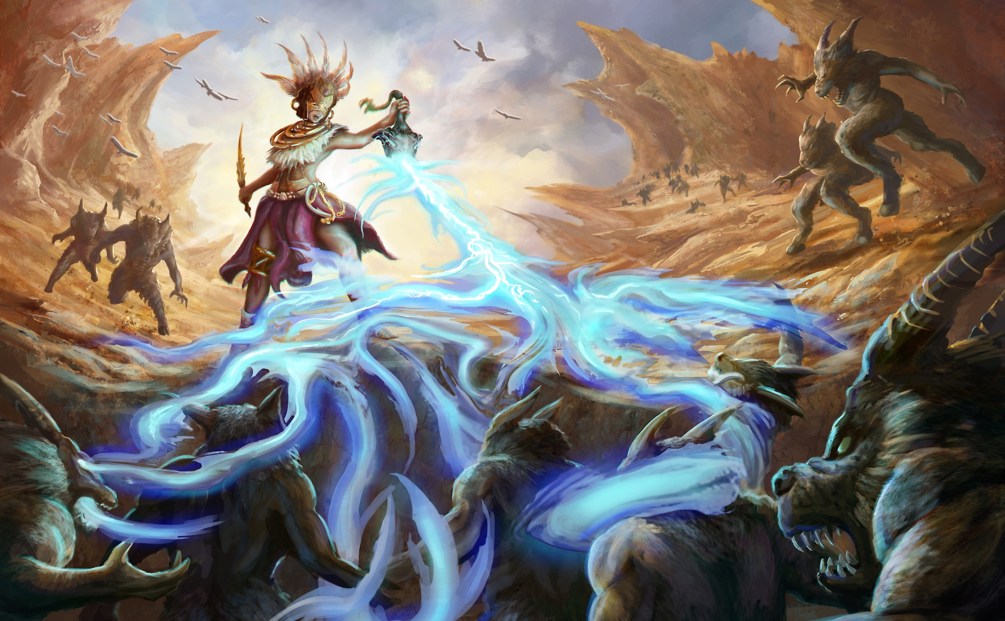 wizard battle wallpaper - photo #1