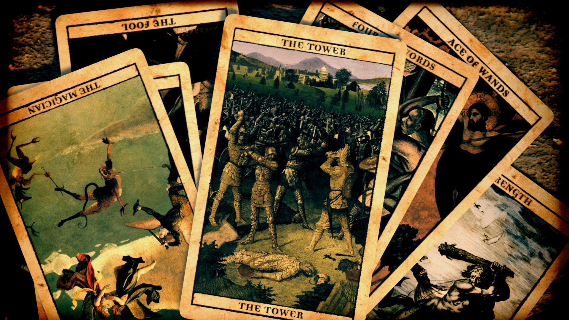 4 Tarot Hd Wallpapers Background Images Wallpaper Abyss