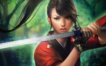 Fantasy - Women Warrior Wallpapers and Backgrounds ID : 304893