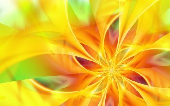 Abstract - Yellow Wallpapers and Backgrounds ID : 30491