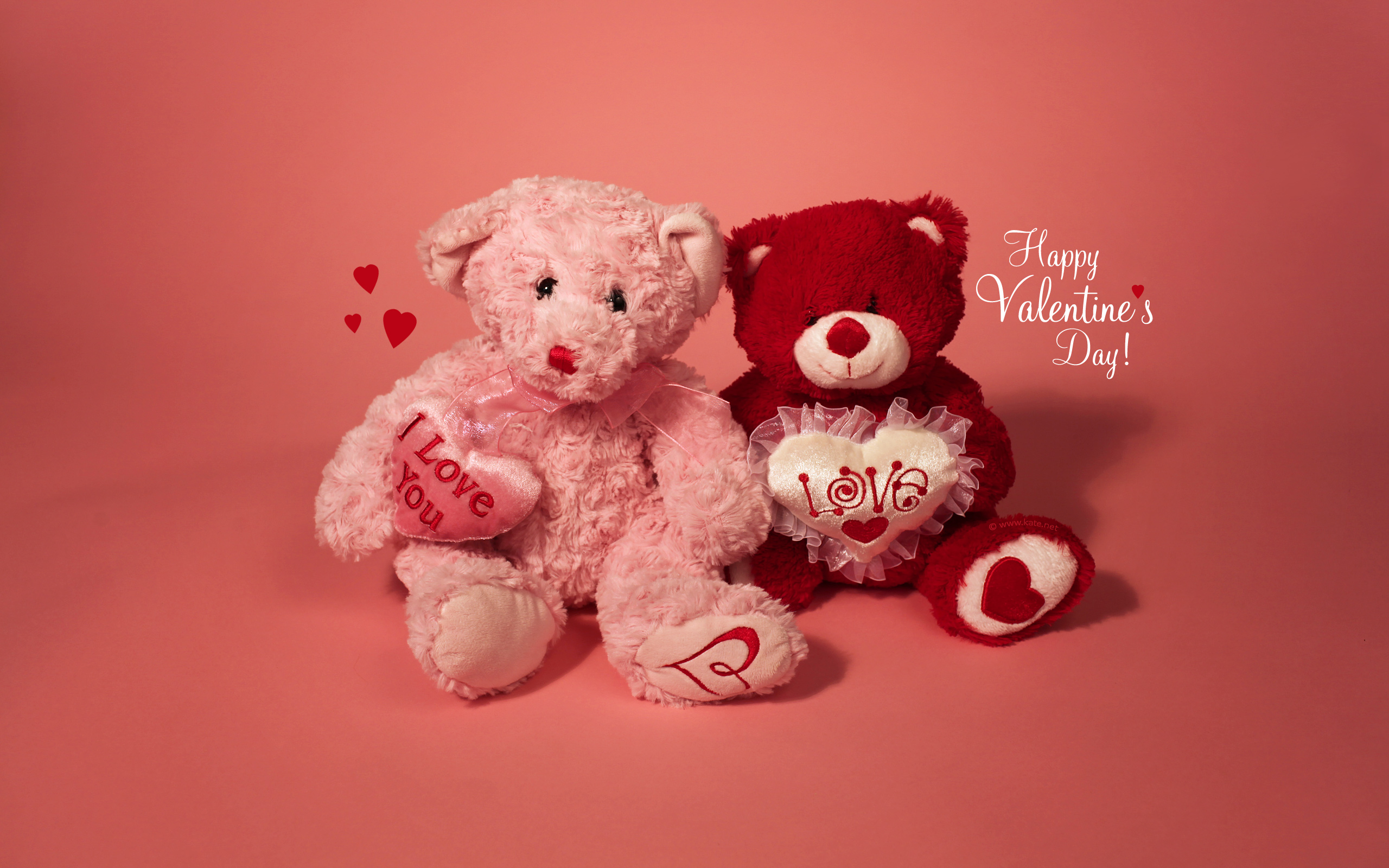 Holiday - Valentine's Day  Teddy Bear Love Wallpaper