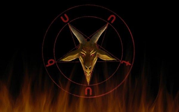 Humor Oscuro Satanic Satanism Satan Baphomet Demonio Oculto Pagan Fondo de pantalla HD | Fondo de Escritorio