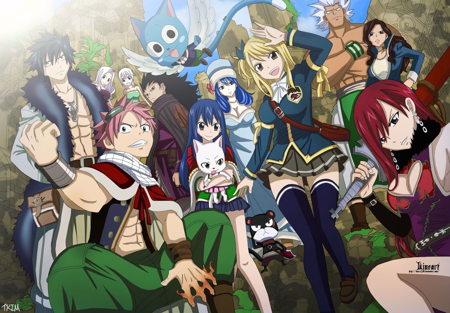 Fairy Tail Guild Wallpaper Hd 923 Fairy Tail HD Wall...