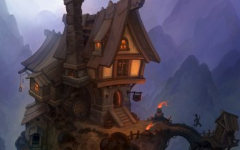 Fantasy - Building Wallpapers and Backgrounds ID : 307413