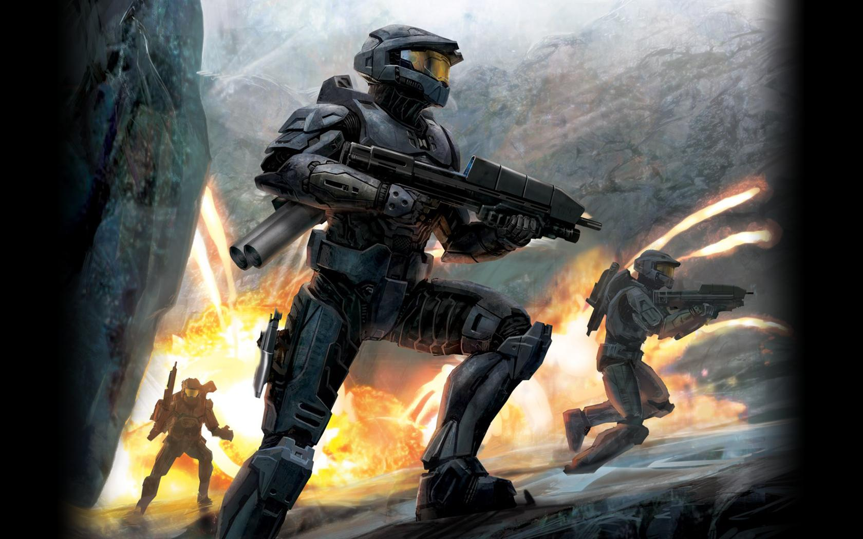Video Game - Halo  - Fighter Wallpaper