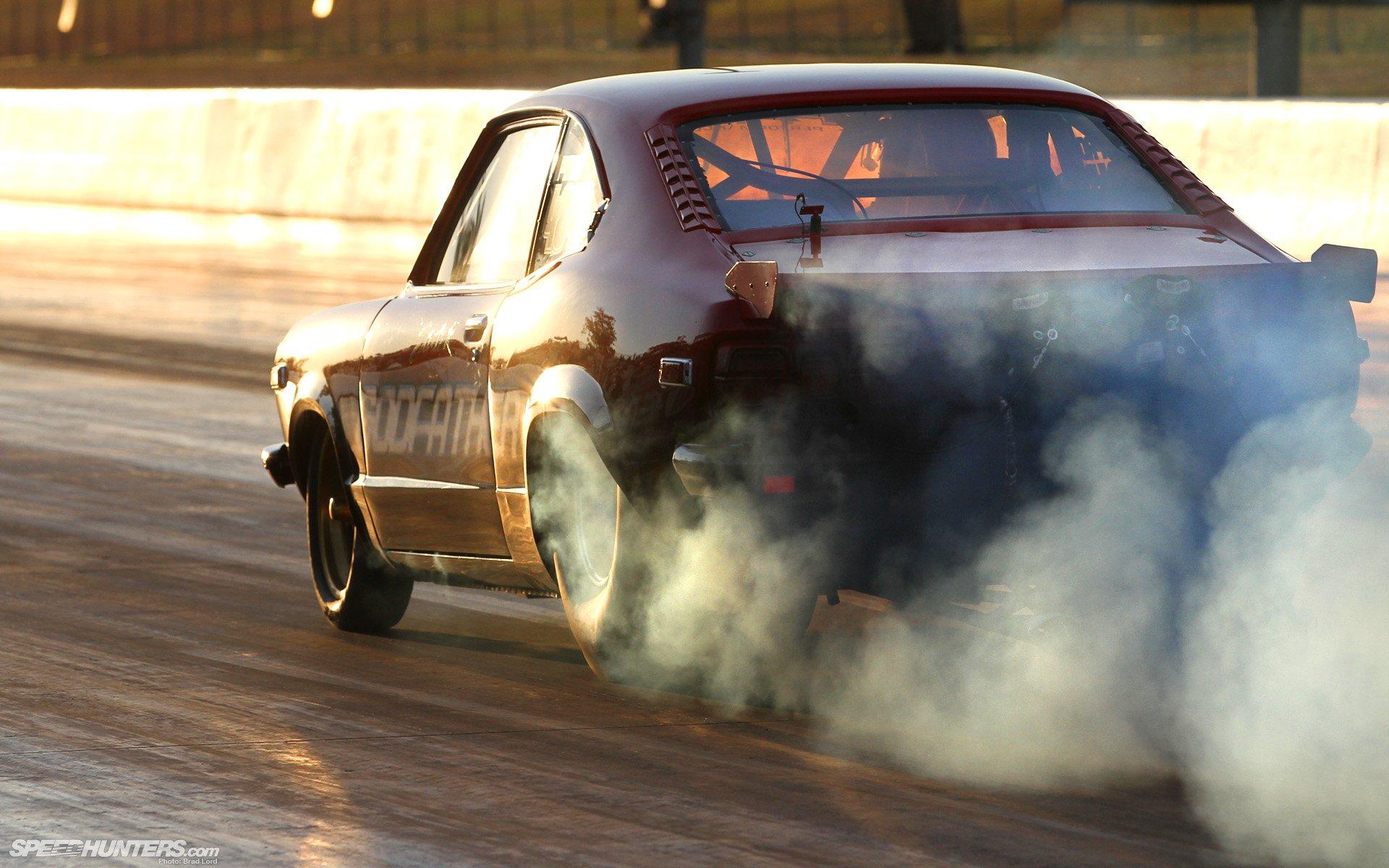 Vehicles - Drag Racing  Drag Race Race Car Burnout Wallpaper