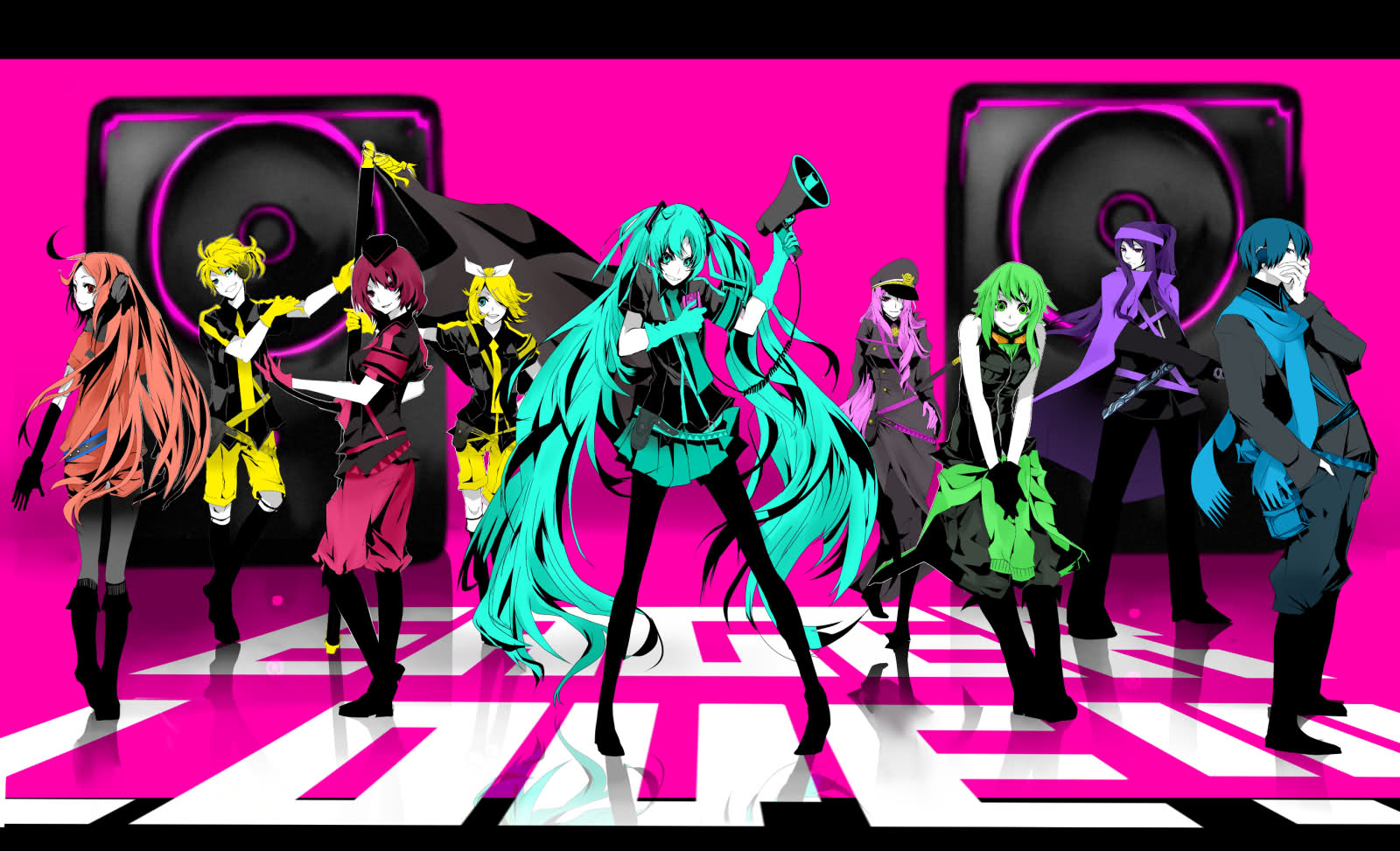 VOCALOID - Love is War Wallpaper and Background | 1600x973 ...